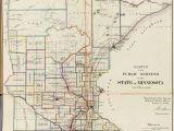 Rice Minnesota Map Counties Of Minnesota Map Leech Lake Map Population Map Of Us