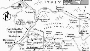 Rick Steves Map Of Italy Dolomites Travel Guide Resources Trip Planning Info by Rick Steves