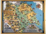 Ripon England Map Vintage Travel Posters Devon Yorkshire Google Search