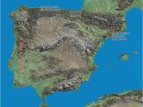 River Ebro Spain Map Geography the Spanish Biker