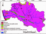 Rivers In Italy Map Geological Map Of the Netravati and Gurpur River Basins source