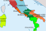 Rivers In Italy Map Italy In 400 Bc Roman Maps Italy History Roman Empire Italy Map
