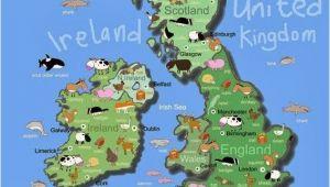 Rivers Of Ireland Map for Kids British isles Maps Etc In 2019 Maps for Kids Irish Art