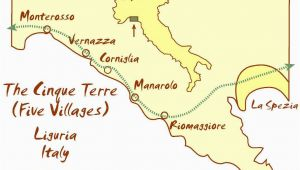 Riviera Italy Map Everything You Need to Know About Cinque Terre In Italy Reisemol