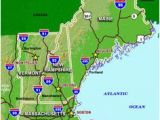 Road Map Of New England 60 Best New England Maps Images In 2019 England Map New England