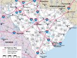 Road Map Of north and south Carolina Map Of south Carolina Highways