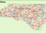 Road Map Of Virginia and north Carolina Road Map Of north Carolina with Cities
