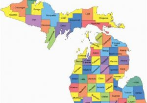 Rock Michigan Map Michigan Map with Counties Big Michigan Love Michigan Map Guns