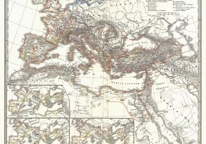 Roman Map Of Italy File 1865 Spruner Map Of the Roman Empire Under Diocletian