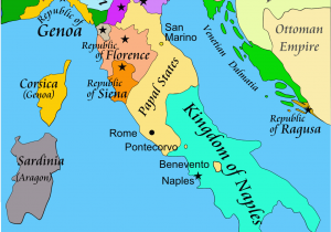 Roman Map Of Italy Italian War Of 1494 1498 Wikipedia