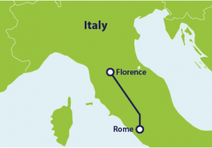 Rome Italy Airport Map How to Get From Rome to Florence by Train Rome to Florence