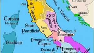 Rome On Map Of Italy Map Of Italy Roman Holiday Italy Map European History southern