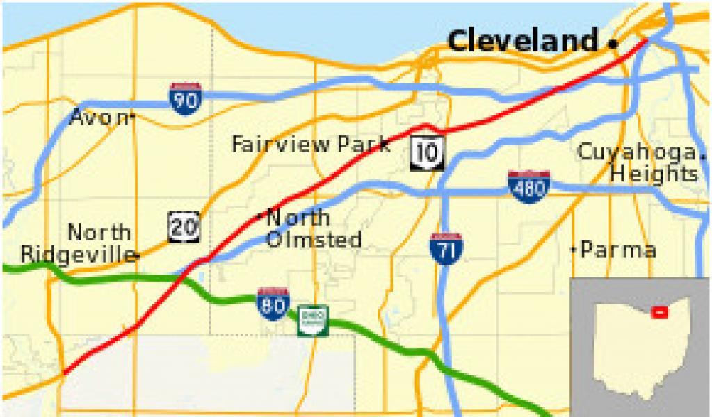 Rootstown Ohio Map Ohio State Route 2 Revolvy – secretmuseum