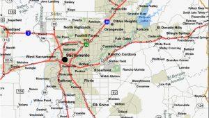 Roseville California Map Rocklin Ca Map Inspirational Sacramento California Map Maps Directions
