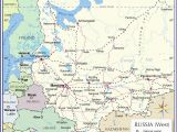 Russia On Europe Map Map Of Russia and Eastern Europe