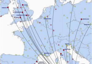 Ryanair Flights to Italy Map List Of Ryanair Destinations