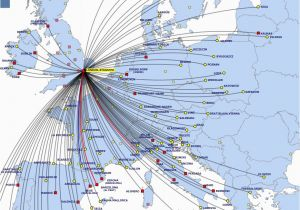 Ryanair Italy Destinations Map List Of Ryanair Destinations