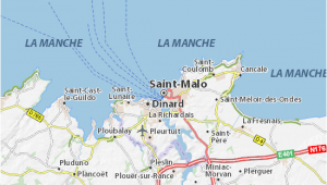 Saint Malo France Map Saint Malo Map Detailed Maps for the City Of Saint Malo Viamichelin