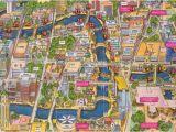 San Antonio Texas Riverwalk Map San Antonio River Walk Map Texas San Antonio River San Antonio