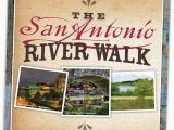 San Antonio Texas Riverwalk Map San Antonio River Walk Trail Map Brochure