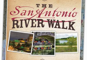 San Antonio Texas Riverwalk Map San Antonio River Walk Trail Map Brochure