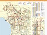 San Fernando California Map June 2016 Bus and Rail System Maps
