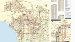 San Fernando California Map June 2016 Bus and Rail System Maps
