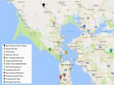 San Francisco Little Italy Map San Francisco S Popular tourist areas