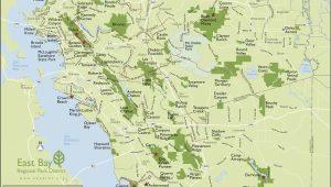 San Francisco On A Map Of California Map San Francisco Bay area California Outline Map Od California
