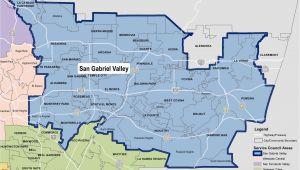 San Gabriel California Map Another Map San Gabriel Valley Pinterest Perfect San Gabriel Valley