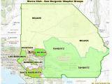 San Gabriel California Map San Gabriel Mountains National Monument San Gorgonio