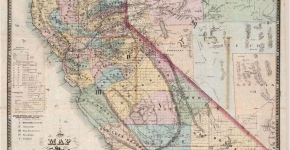 San Jacinto California Map Map Of San Jacinto California Map California Nevada World Map Of