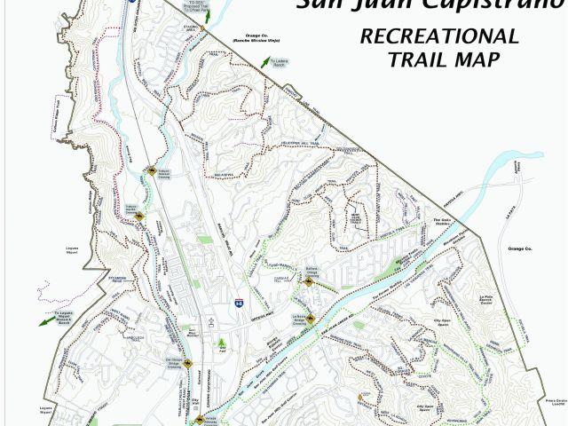 San Juan Capistrano California Map Map San Clemente California Klipy