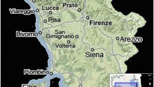 San Lorenzo Italy Map Tuscany Map Map Of Tuscany Italy