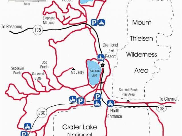 Sandy Oregon Map Diamond Lake Map Snowmobiles Diamond Lake
