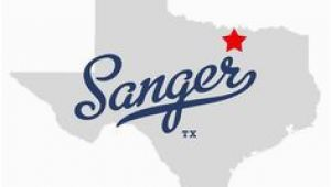 Sanger Texas Map 16 Best Sanger Texas Images Sanger Texas Appliance Packages Art
