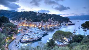 Santa Margherita Italy Map Italian Riviera tourist Map and Guide