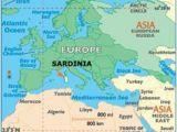 Sardinia Europe Map Europe