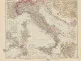 Sardinia Europe Map Gray S New Map Of Italy