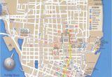 Savannah Georgia City Map Map Of Downtown Charleston