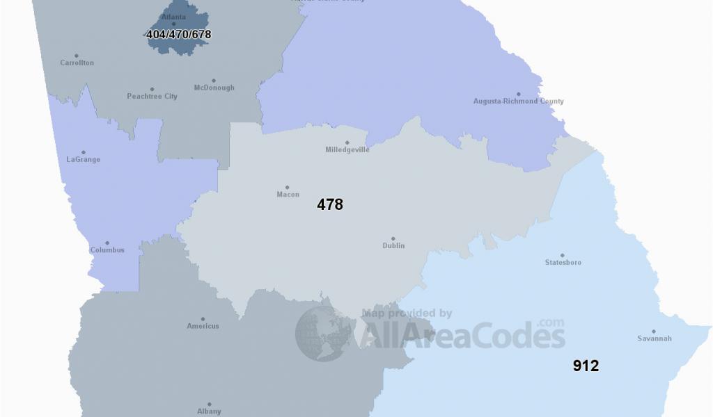 Savannah Georgia Zip Code Map 912 area Code 912 Map Time Zone and ...