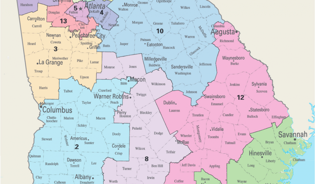Zip Code Map Of Georgia.Savannah Georgia Zip Code Map Georgia S Congressional Districts