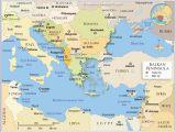Scandinavian Peninsula Europe Map Political Map Of the Balkan Peninsula Nations Online Project