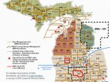 School District Map Michigan Dnr Dmu Management Info
