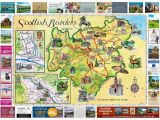 Scotland England Border Map Scottish Borders Map 2018 the Oban Times