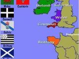 Scotland On Europe Map Map Of the Celtic Nations Of Europe Maps Celtic Nations