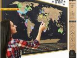 Scratch Off Europe Map Details About Xl Scratch Off Map Of the World with Flags Made In Europe Large 35×23 1 2 Inch