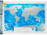 Scratch Off Europe Map Scratch Off World Map Silver In Tube