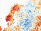 Sea Temperature Map Europe 2018 European Heat Wave Wikipedia