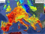Sea Temperature Map Europe Europe Heatwave Uk Could Break All Time Temperature Record